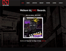 Tablet Preview of 040records.nl